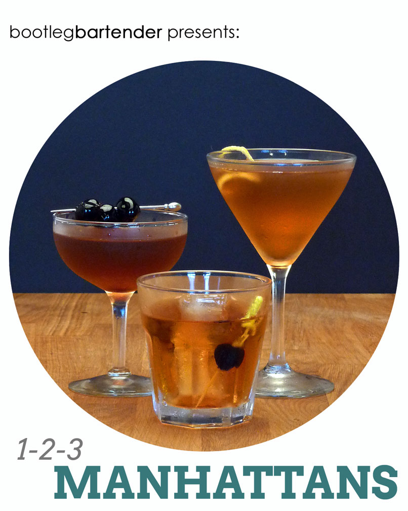 Drinking a classic Manhattan cocktail in Manhattan… Kansas ...